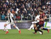 ملخص واهداف مباراة يوفنتوس ضد ميلان في الدوري الإيطالي