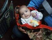 العثور على طفلة رضيعة داخل شنطة سوق أمام دار أيتام بالشرقية