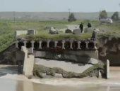 شاهد.. سيول وفيضانات تجتاح العراق لأول مرة منذ 30 سنة