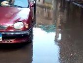 مياه الصرف الصحى تغرق شارع بشبرا ومطالب بتغيير المواسير المتهالكة