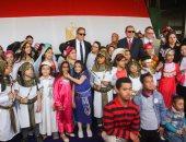 وزيرا القوى العاملة والآثار يشهدان زرع 100 شجرة بالمتحف المصرى الكبير