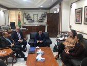 وزراء الاستثمار والبترول والتجارة يبحثون مع وزير الصناعة الأردنى تعزيز العلاقات