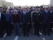 وزير الداخلية يتقدم الجنازة العسكرية للشهيد ماجد عبد الرازق معاون مباحث النزهة
