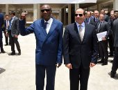 صور وفيديو.. استقبال الرئيس السيسي فى العاصمة الغينية كوناكرى
