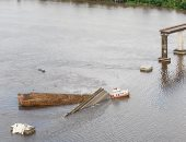 فيديو.. انهيار جسر فى البرازيل والبحث عن ناجين بعد سقوط سيارتين بالمياه