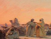 """دار """"كريستيز"""" بلندن تبيع نهاية ابريل لوحة """"الصلاة فى الصحراء""""..اعرف الثمن"""