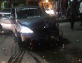 إصابة 5 أشخاص فى حادث تصادم سيارتين على طريق مطروح