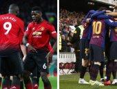 برشلونة ضد مان يونايتد.. التشكيل المتوقع لقمة دورى أبطال أوروبا