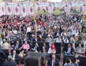 5 الاف مواطن بفاقوس يشاركون فى مؤتمر جماهيرى عن التعديلات الدستورية