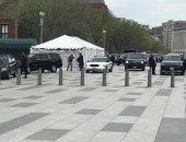 شاهد.. لحظة  وصول الرئيس السيسى لمقر إقامته بواشنطن