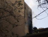 النيابة تأمر بانتداب المعمل الجنائى لمعاينة حريق شقة فى المطرية