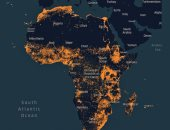 فيس بوك ينشئ خريطة لأفريقيا لمساعدة وكالات الإغاثة
