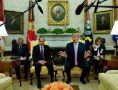 الرئيس السيسى يؤكد من البيت الأبيض عمق العلاقات المصرية الأمريكية