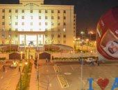 صور.. الاستعدادت النهائية لإطلاق مهرجان منطاد الإمارات من مكتبة الإسكندرية