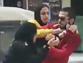 إلقاء القبض على طالب جامعى تحرش بفتاة فضربته وصاحبتها علقة ساخنة