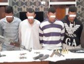ضبط 6 أشخاص فى مشاجرة بالأسلحة النارية بين عائلتين بقنا