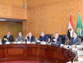 محافظ الإسماعيلية ومدير الأمن يناقشان تأمين الاستفتاء على الدستور