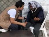 فيديو.. ولى العهد الأردنى يتناول الشاى على الرصيف مع أحد المواطنين