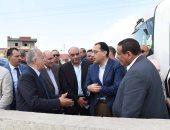 صور.. رئيس الوزراء يتفقد المنطقة اللوجيستية بالبحيرة.. والتكليف بإنشاء 5 مناطق