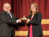 جامعة القاهرة تكرم غادة والى باعتبارها نموذجا للمرأة المصرية الناجحة