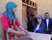 وزيرة البيئة تبحث سبل تحويل أفران حرق الفخار لأخرى متوافقة بيئيا بقرية تونس