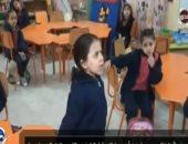 شاهد.. عرض لأطفال مدرسة عن أهمية المشاركة فى التعديلات الدستورية