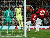 مان يونايتد ضد برشلونة.. رأسية سواريز تتقدم للبارسا فى الدقيقة 13