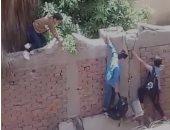 قارئ يشارك بفيديو لهروب التلاميذ من مدرسة حدائق الأميرية المشتركة بالقاهرة