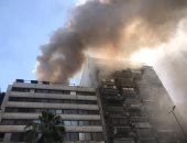 اندلاع حريق داخل مطعم فى شارع جامعة الدول والإطفاء تحاول إخماده