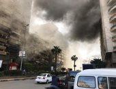 السيطرة على حريق داخل مدخنة مطعم فى شارع جامعة الدول دون إصابات
