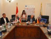 محافظ الجيزة يوقع اتفاقا مع الوكالة الألمانية لتطوير البنية التحتية بـ3 مناطق