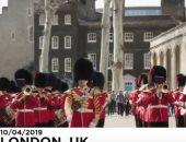 """شاهد..  الحرس الملكى البريطانى يعزف موسيقى مسلسل """"لعبة العروش"""" الشهير"""