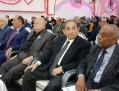 """صور.. """"حماة الوطن"""" ينظم مؤتمرا جماهيريا لتأييد التعديلات الدستورية"""