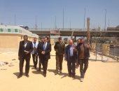 محافظ القليوبية يتفقد منطقة مسطرد بحى شرق شبرا الخيمة