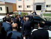 وزيرة التضامن تصل المنيا لافتتاح مركز العزيمة لعلاج الادمان