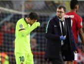 أخبار ميسي اليوم عن السر وراء إيقاف نزيف نجم برشلونة أمام مان يونايتد