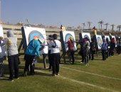 اختتام بطولة كأس مصر للقوس والسهم بحضور 348 لاعب ولاعبة يمثلون 22 هيئة