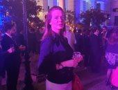 """صور.. إيمى سالم تشارك احتفال السفارة البريطانية بعيد ميلاد """"إليزابيث"""""""