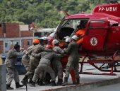 صور.. البرازيل تدفع بطائرات لإنتشال ضحايا ومصابى كارثة انهيار مبنيين بريو دى جانيرو