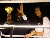 بعد استقبالها للاعب الكاميرونى سونج.. كل ما تريد معرفته عن الفنانة هاجر أحمد