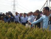 صور.. وزير الزراعة: استنباط أصناف جديدة من المحاصيل الإستراتيجية لزيادة الإنتاج