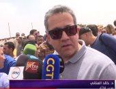 """وزير الآثار يكشف أسرار مقبرة """"خوى"""" وتاريخها.. فيديو"""