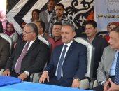 صور.. محافظ الإسماعيلية يشهد يفتتح حفل معرض ختام الأنشطة التربوية