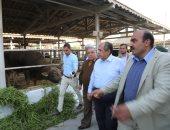 صور.. وزير الزراعة يوجه بالرقابة على مدخلات ومخرجات الإنتاج والأسمدة