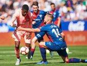 هويسكا يوقف انتصارات برشلونة في الدوري الإسباني