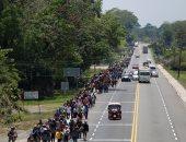صور.. مواطنو هندوراس يواصلون ترك دولتهم ويهاجرون إلى الولايات المتحدة