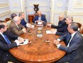 صور.. بدء اجتماع لجنة صياغة التعديلات الدستورية برئاسة على عبد العال