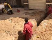 شكوى من قيام عمال شركة الغاز بالحفر عشوائيا وتوصيل المواسير من الواجهات