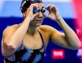 شاهد أول تعليق من فريدة عثمان بعد حصد برونزية بطولة العالم للسباحة