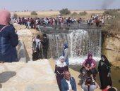 صور.. البيئة: محمية وادى الريان تستقبل 3938 طالبًا من 6 جامعات